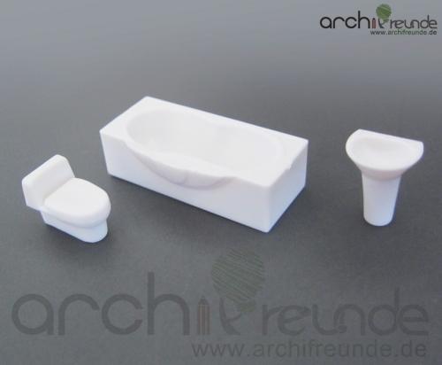 Modelleisenbahn Spur 0 2 x Modell Sessel weiß für Modellbau 1:50